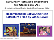Culturally Relevant Literature – Native American SELs